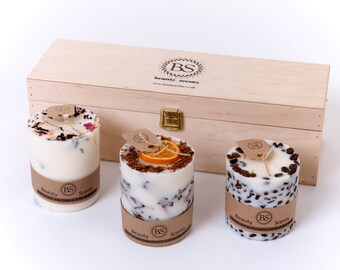 Beauty Scents 3 Candle Set