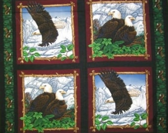 Per Panel, Eagle Overlook Pillow Panel Fabric