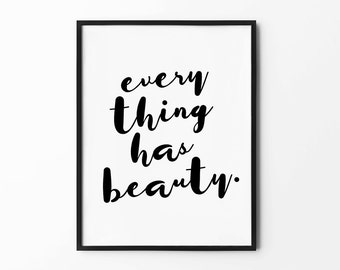 Wall Art Prints, Quote Prints, Art Print, Black and White Art, Minimalist Poster, Typography Print, Wall Decor, Inspirational, Motivational