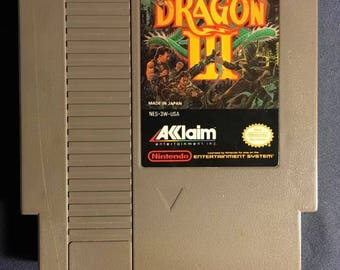 Double Dragon 3 Nintendo NES Video Game from 1991