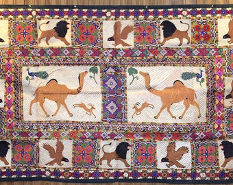 Hand Embroidered Wall Hanging from women of Tharparkar Desert