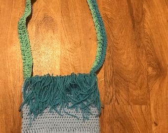 Colors of the sea fringed purse