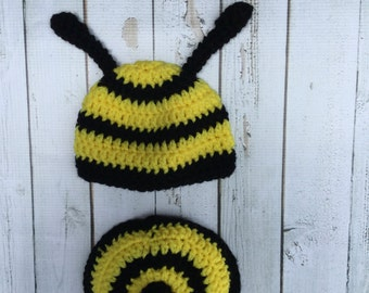Bumble Bee Photo Prop Hat and Stinger