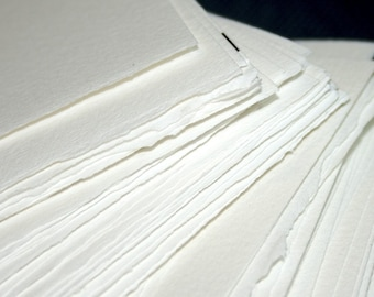 Half-Pound of Paper -  Arches 90 lb. Watercolor Paper Blanks - Supplies