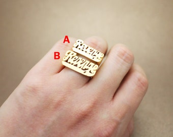 ian connor revenge ring revenge jewelry sterling silver with gold plated