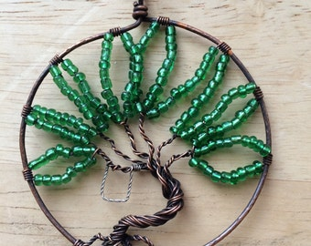 Central Florida Summer Tree of Life Pendant