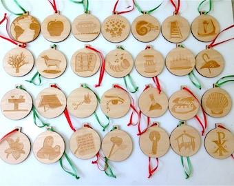 Jesse Tree Ornaments/Advent Special Price