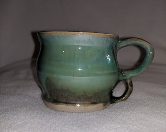 Beautiful new pottery cappuccino cup