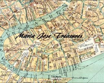 Vintage Venice (Italy) maps - Digital Download