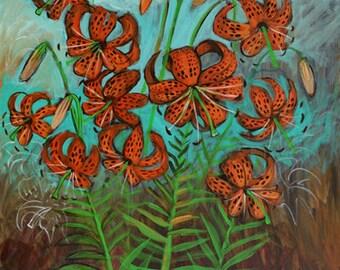 Tiger Lily - Print