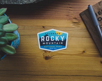 Rocky Mountain National Park - Vinyl Sticker