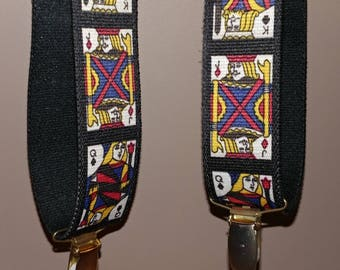 Suspenders King & Queen Card Deck - Vintage Made In West Germany