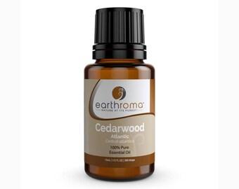Cedarwood Atlantica Essential Oil 5 mL, 15 mL, 30 mL | 100% Pure Therapeutic