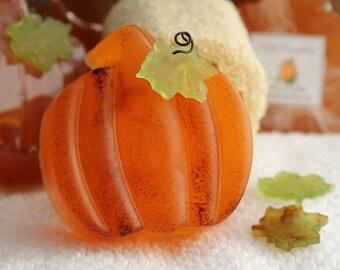 Pumpkin Soap - Fall Decor - Thanksgiving Hostess Gift - Thanksgiving Decoration - Pumpkin Spice - Harvest Festival