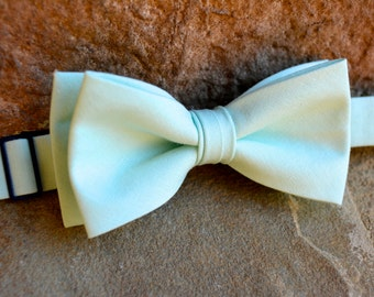 Mint bow tie - mint,mint plaid bow tie,mint and gold plaid bow tie,mint green floral bow tie,boys accessories,boys bow ties
