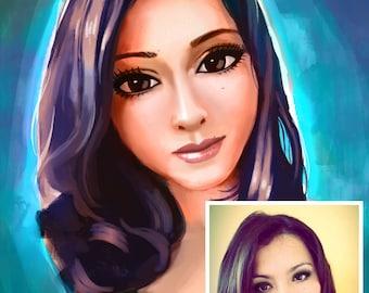 Custom Portrait, Custom Portrait from Photo, Realistic Portrait , Portrait Sketch, Portrait Drawing from Photo, Pencil Portrait Drawing