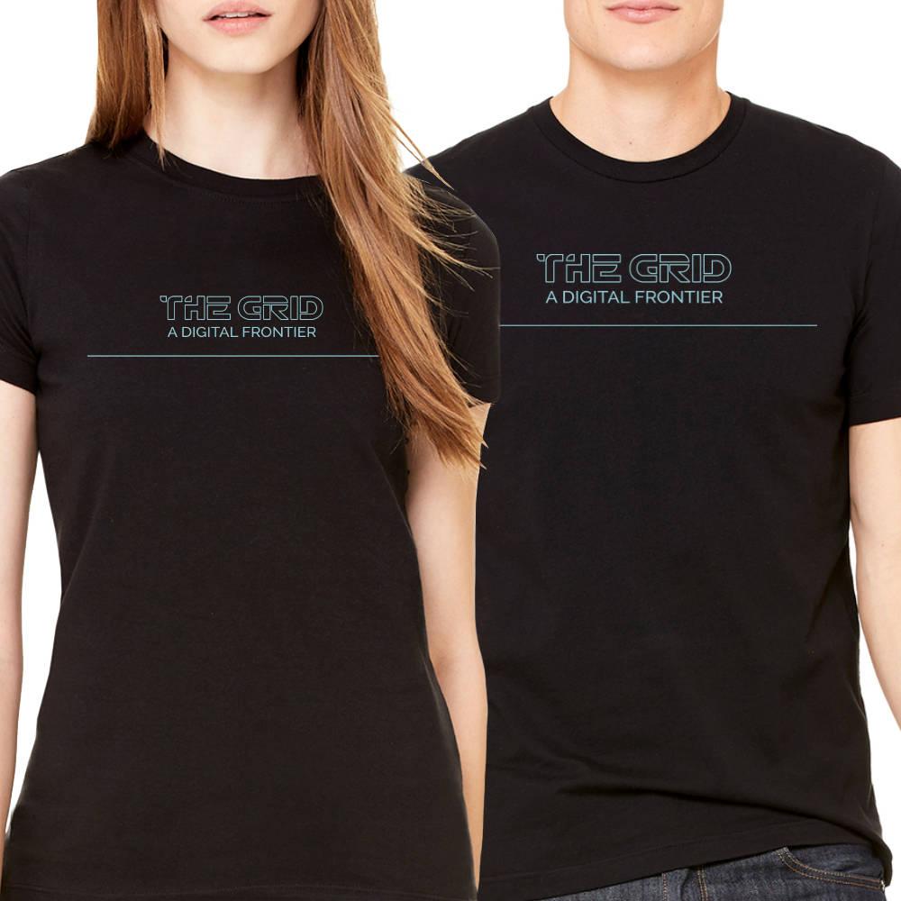The Grid - Tron Unisex T-Shirt - Black