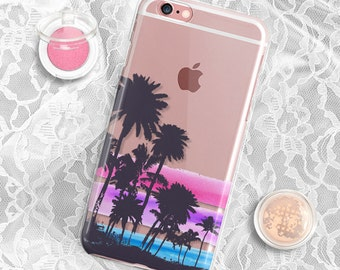 coque iphone 6 palmtrees