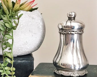 Antique Tiffany and Co Silver Plated Pepper Grinder