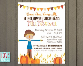 Fall Festival Invitation Templates Yeni Mescale Co