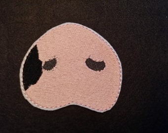 Pig/Hog  Snout -CUSTOMIZED like your pig's snout!!