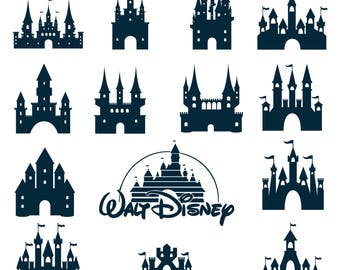 Disney Castle Svg/Eps/Png/Jpg/Cliparts,Printable, Silhouette and Cricut File !!!