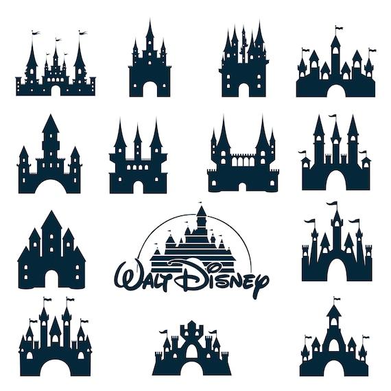 Disney Castle Svg Eps Png Jpg Cliparts Printable