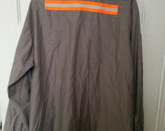 men's safety shirt xxl normcore work shirt reflective uniform