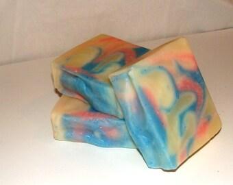 Sweet Orange Swirl Soap