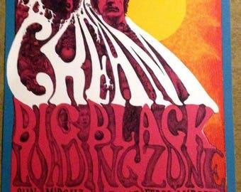 Cream Concert Poster BG-109 Bill Graham (1968) Lee Conklin MINT!