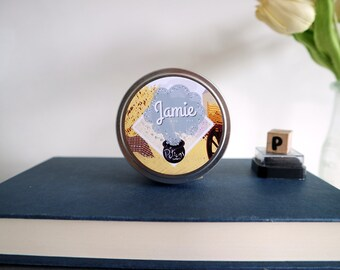 Jamie ~ 6oz Scented Soy Candle