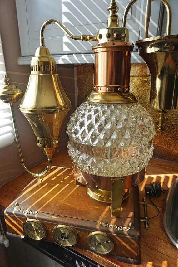 Antique Vintage Machine Age Light