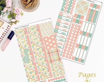 May Monthly Planner Sticker Kit for Erin Condren Life Planners/ Functional Stickers/ Monthly Sticker Set