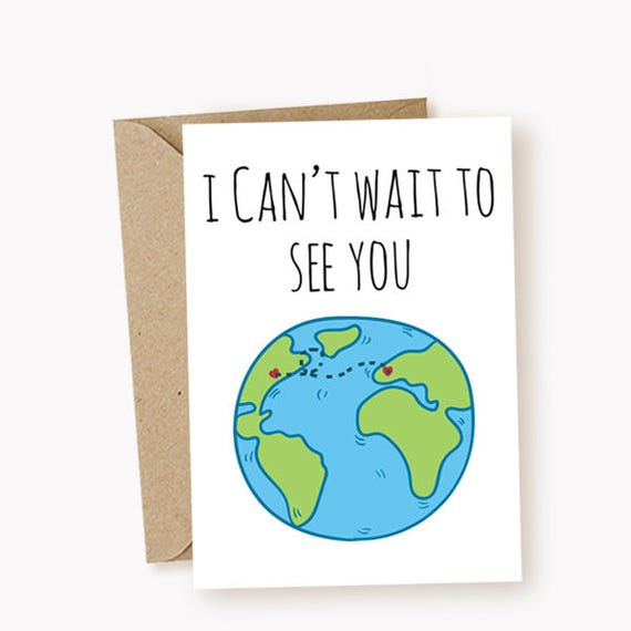I miss you card i cant wait to see you card funny greeting m4hsunfo Images