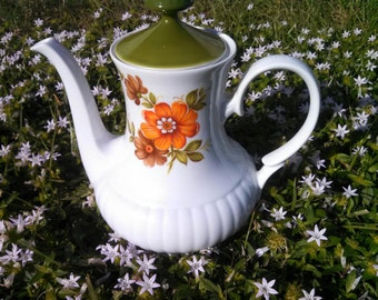 Mitterteich Bavaria Porcelain Coffee Pot