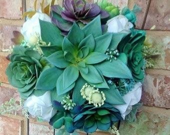 Custom Bridal Bouquet Designs/SOLD