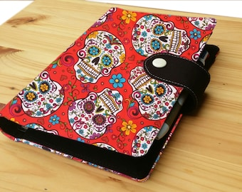 Red Sugar skull Mini Happy Planner optional mini Happy planner undated