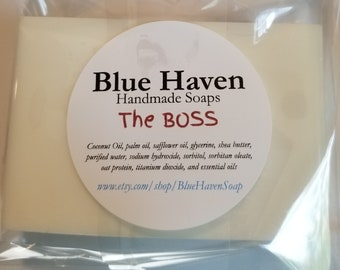 The BOSS shea butter soap