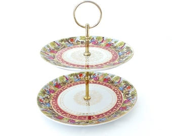 2 Tiered Cake Plate