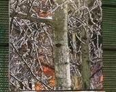 Winter Aspen Tile Mosaic - 3 - 6in Tiles (18 in x 6 in)