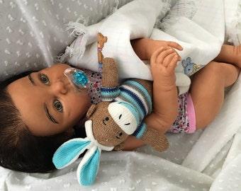 STUNNING Custom Biracial Ethnic AA African American BIG Reborn Toddler Baby
