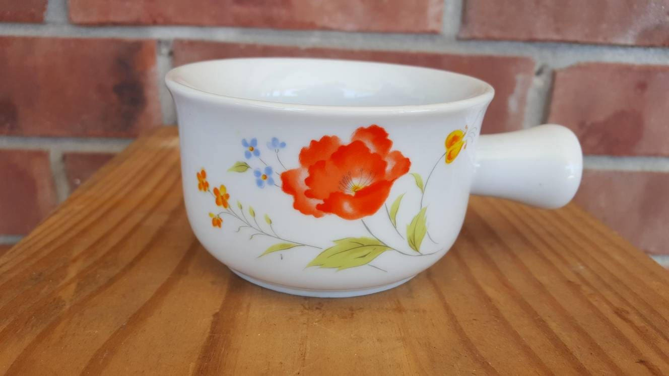 Bake N Serve Ramekin 10 oz Hearthside Fine Porcelain China Soup Bowl ...