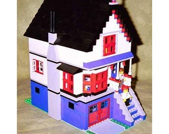 Victorian House building instructions - use your own LEGOs to build this custom model