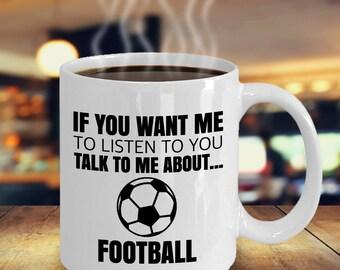 Soccer Gifts, Football Mug, Football Fan, Soccer Gift for Dad, Footballer Gift, Gift for Football Player, Soccer Gift for Mom, Birthday Mug