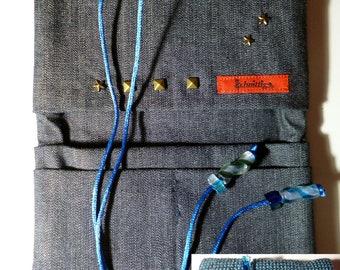 Tobacco bag jeans, blue