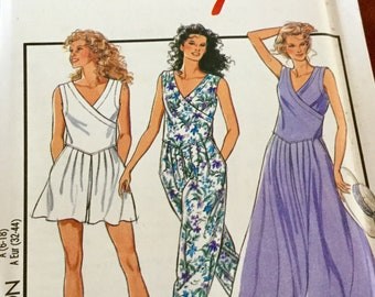 Style 1893 Misses Pull On Dress and Jumpsuit | Size 6-18, Uncut