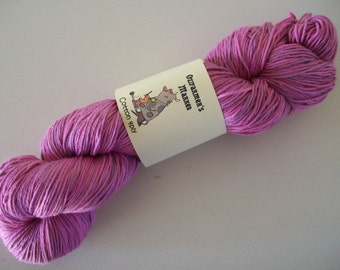 4 ply hand dyed semi-solid cotton - Musk