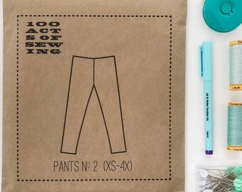 100 Acts of Sewing: Pants No. 2 - Sewing Pattern