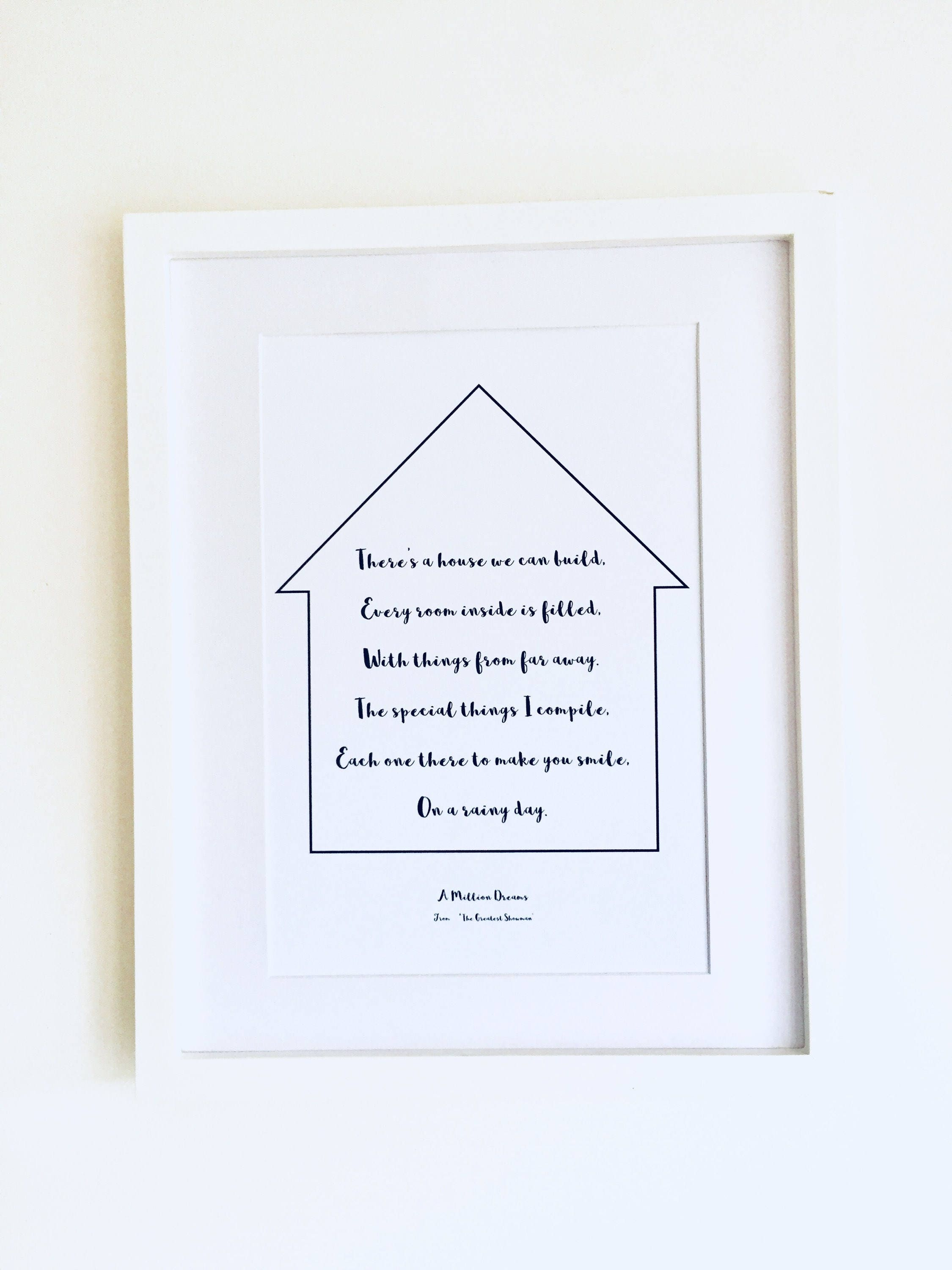 The greatest showman lyrics travel lover gift housewarming gift the greatest showman lyrics travel lover gift housewarming gift dreams quote wall art movie quotes song lyrics print new home gift stopboris Image collections