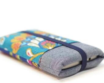 Pochette tissu ethnique iPhone 7, Pochette smartphone coloré, Coque iPhone 6, 6s, Housse samsung galaxy, Housse téléphone Wiko, cadeau femme